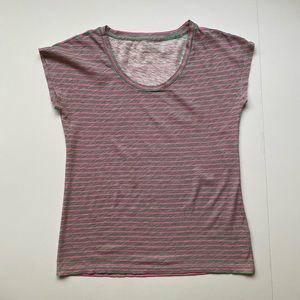 J. Crew strip t-shirt